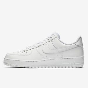 EUC Nike Air Force 1 white sneakers 12